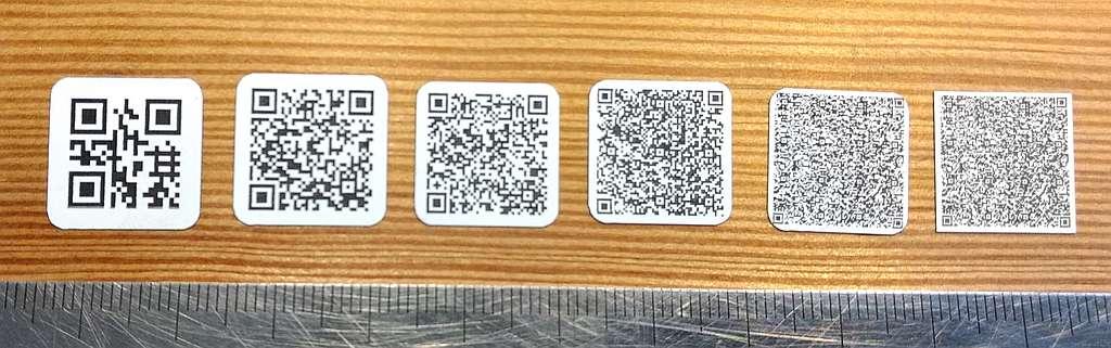 6 QR Codes